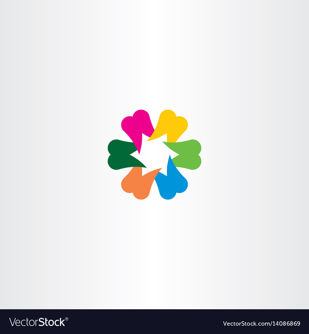 Teeth logo colorful icon