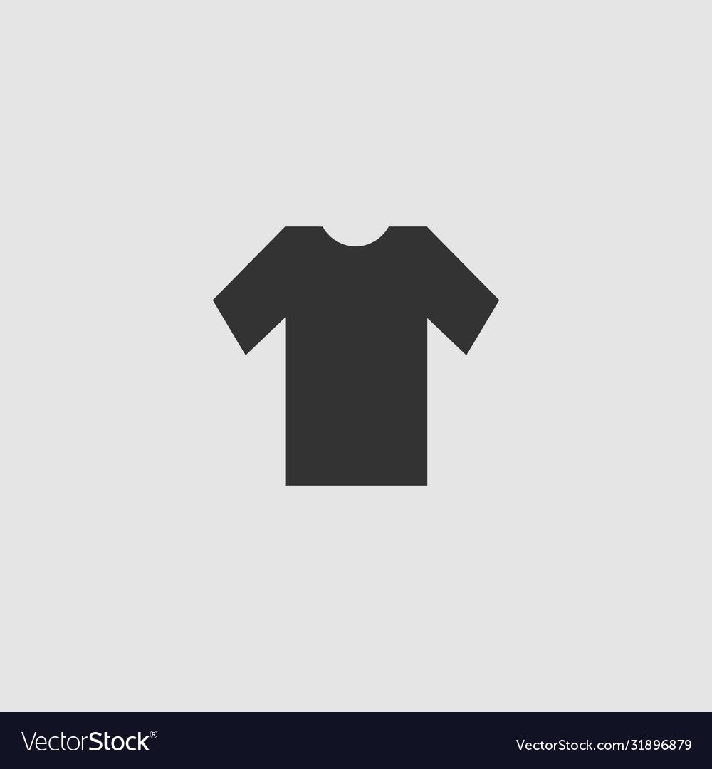 tshirt icon flat royalty free vector image vectorstock tshirt icon flat royalty free vector image vectorstock