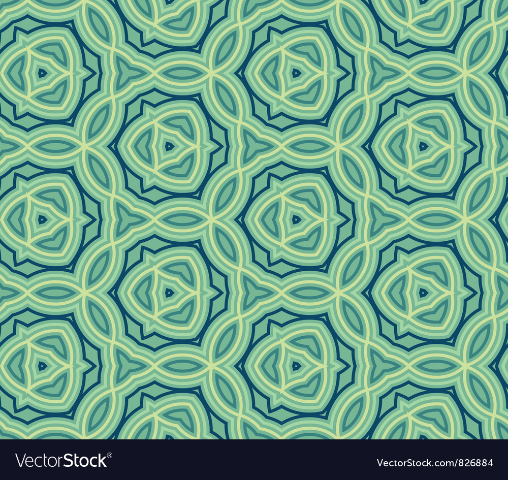 Abstract ethnic seamless background