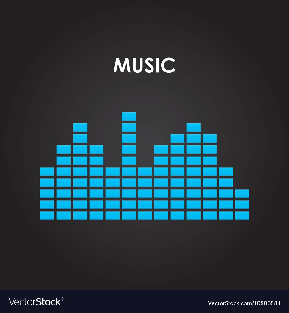 Music equalizer isolated icon