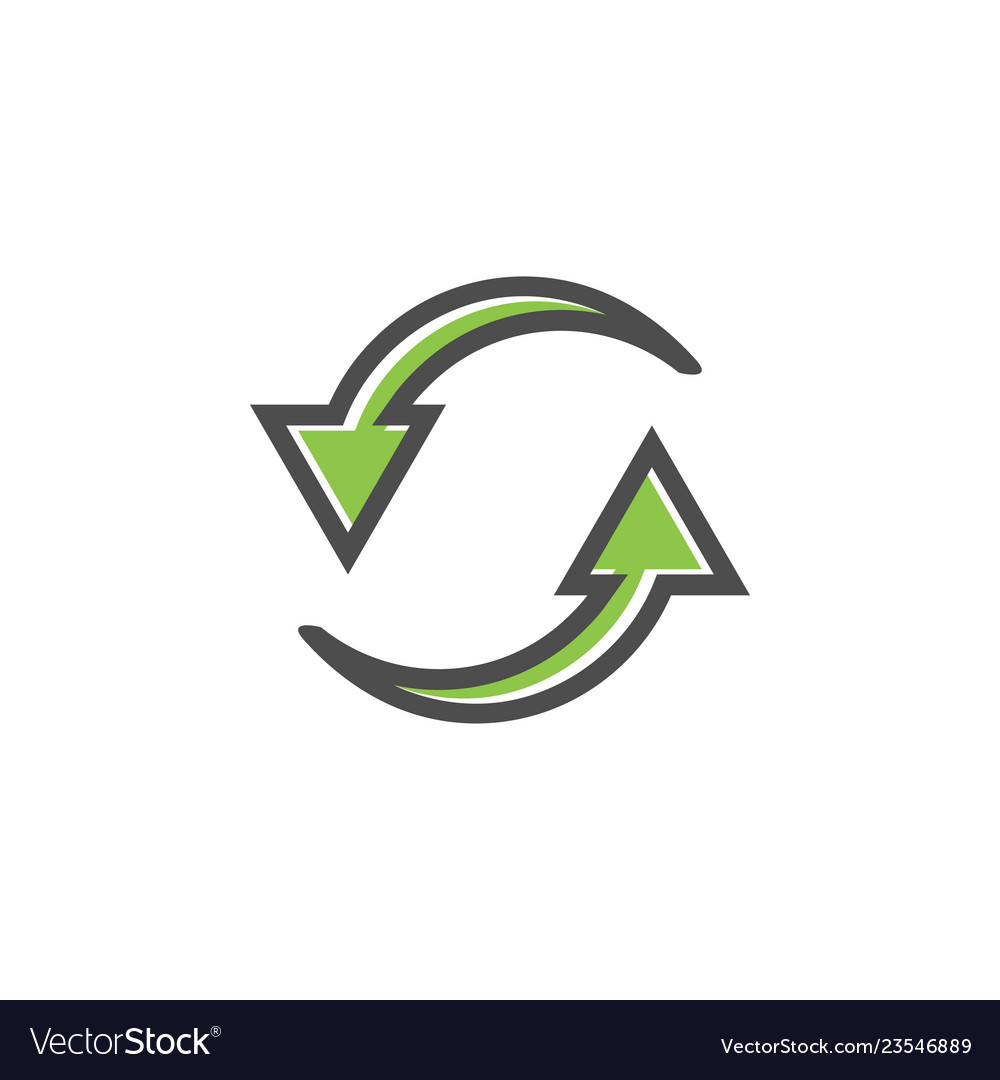 Reload refresh icon graphic design template