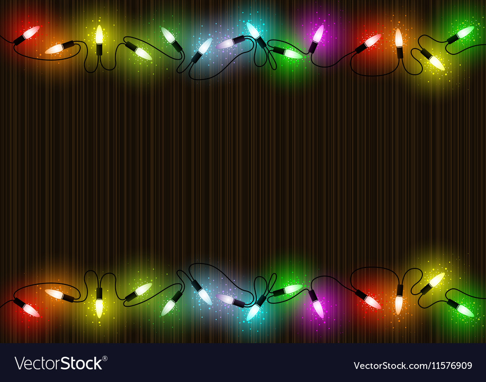 Colorful Christmas Lights Background.Colorful Christmas Lights Background