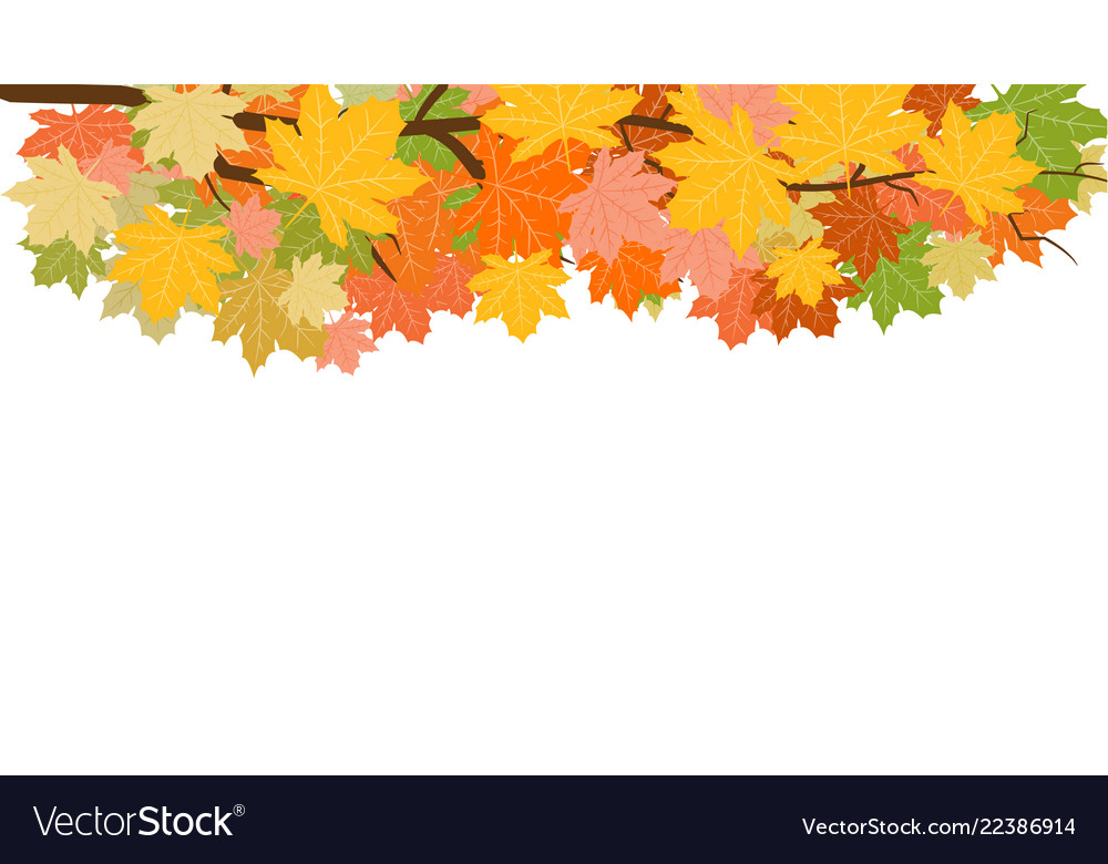 Abstract background with falling