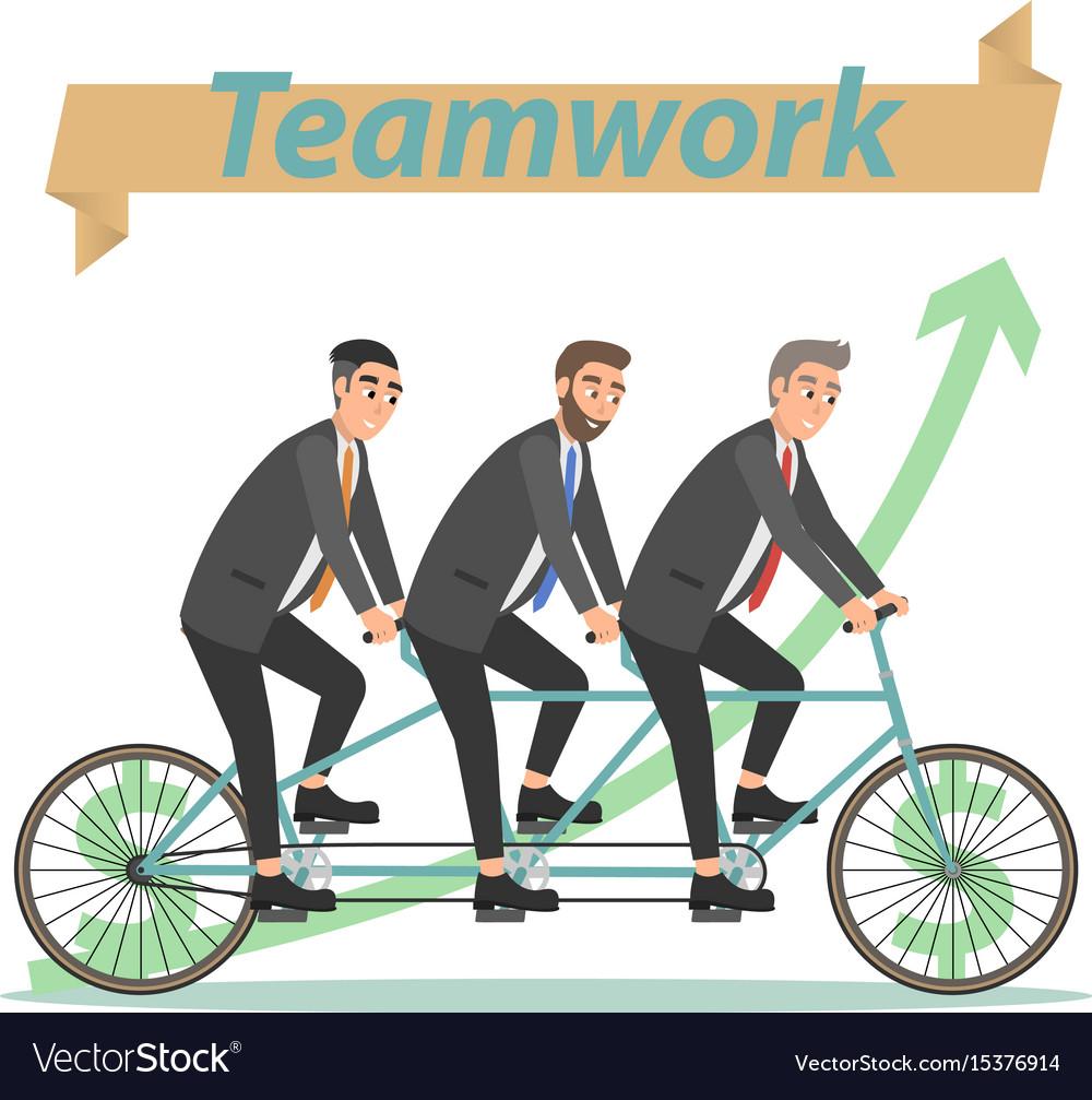 Business concept teamwork