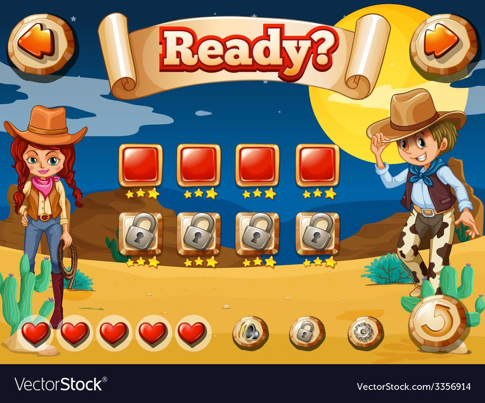 Cowboy game