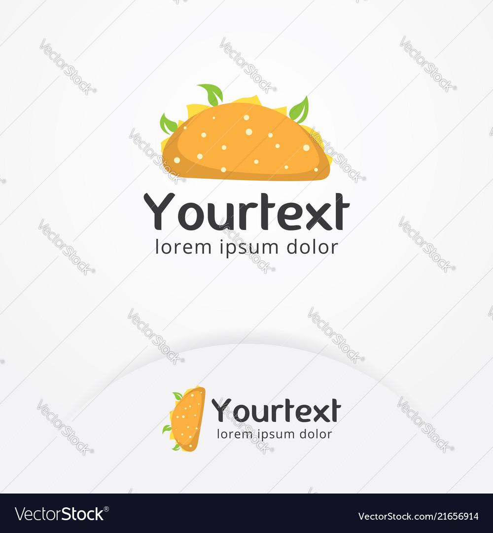 Mexican taco logo