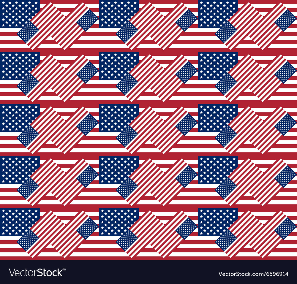 Patriotic USA seamless pattern background texture