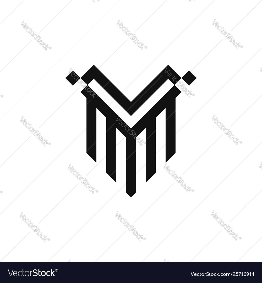 Shield v logo