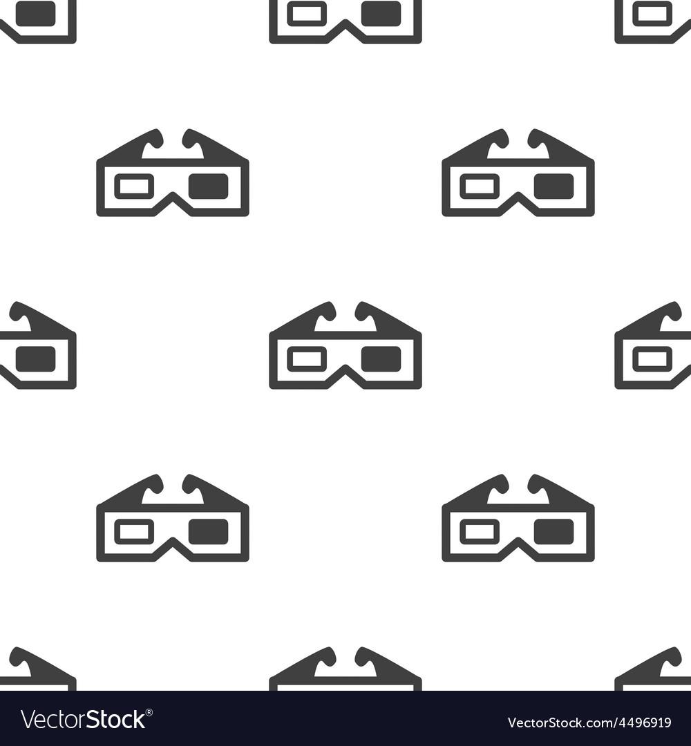3d movie seamless pattern