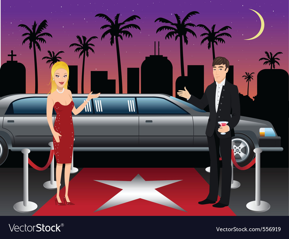 Hollywood red carpet hosts