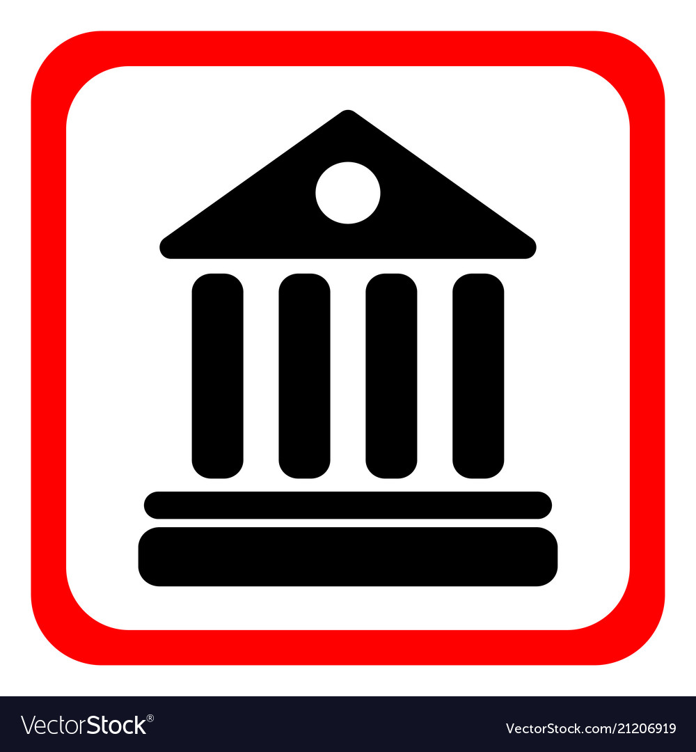 University icon on white background