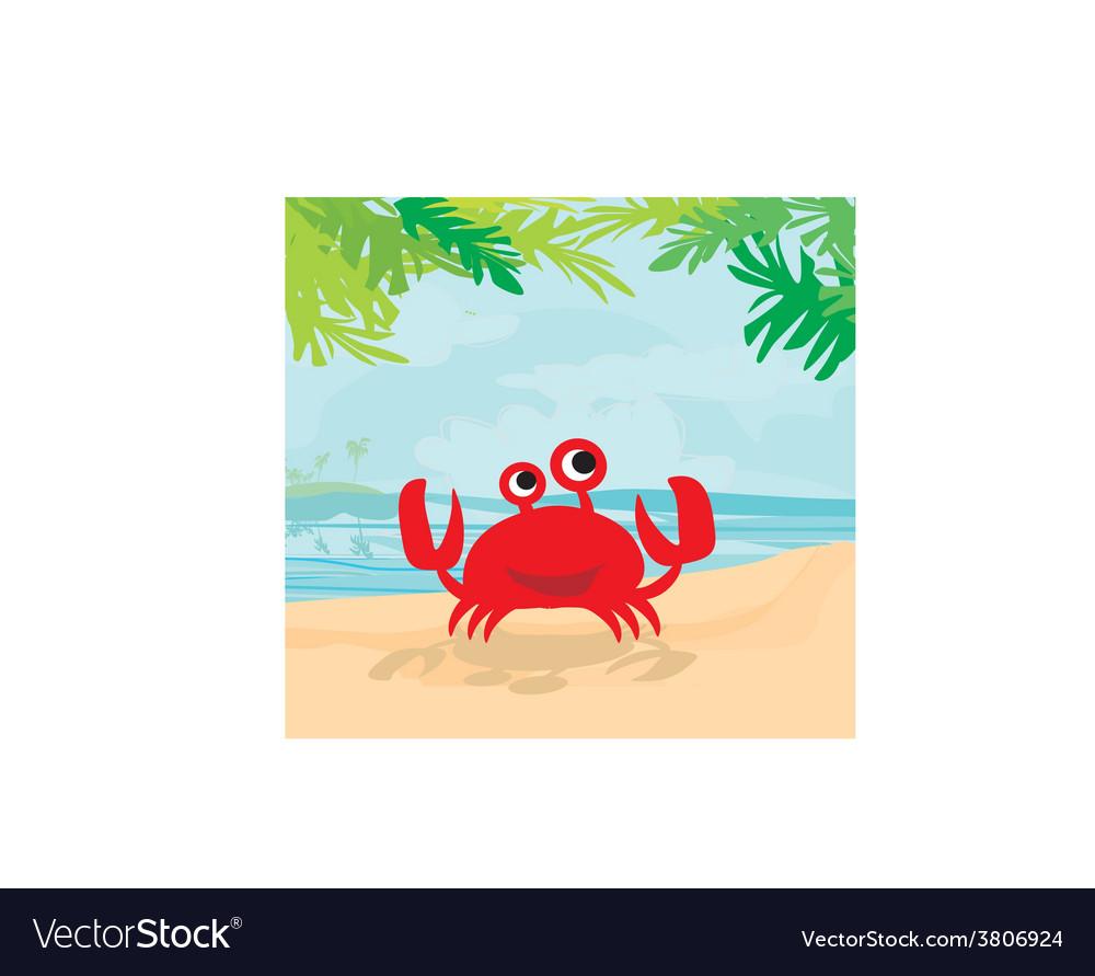 A funny crab