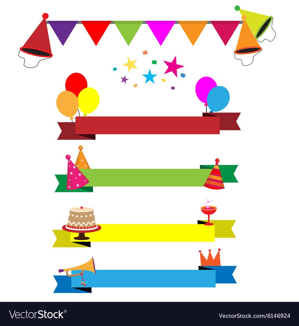 Ribbon party celebration