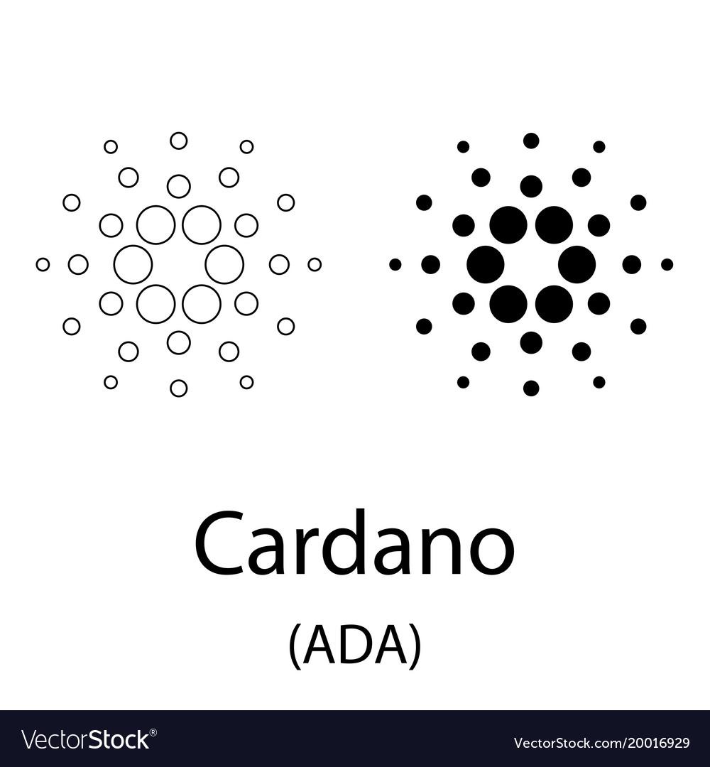 Cardano black silhouette