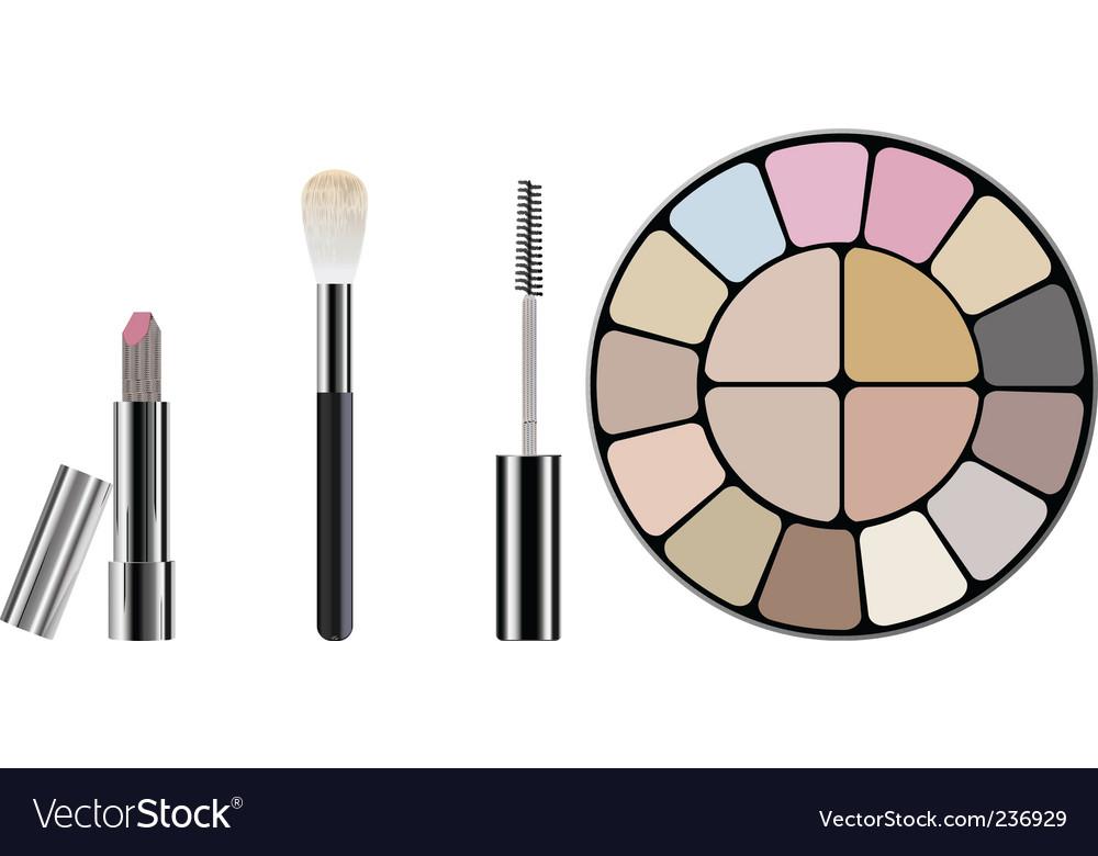 Makeup Kit Royalty Free Vector Image