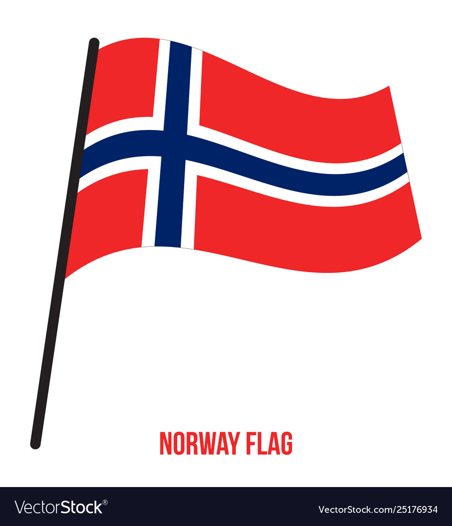 Norway Flag Background