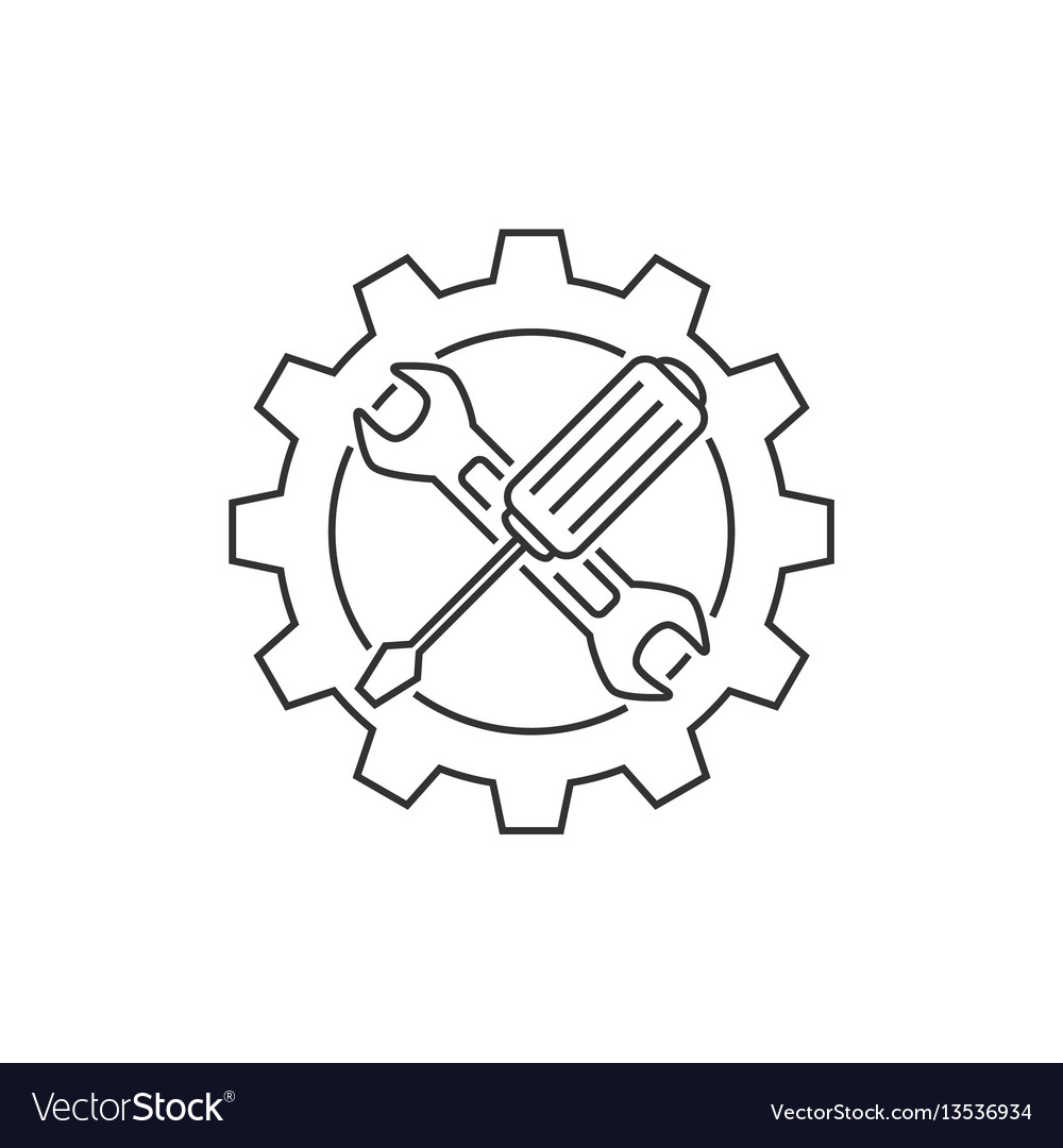 Technical support line icon