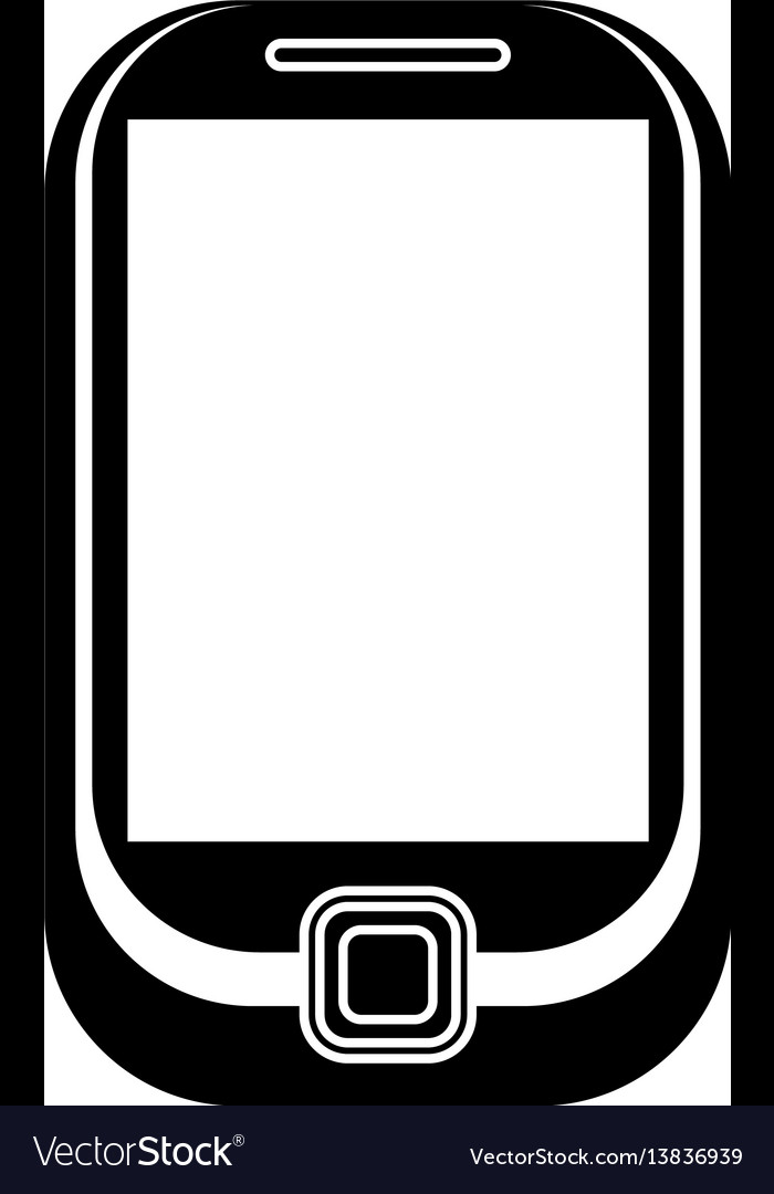 Cellphone mobile technology pictogram