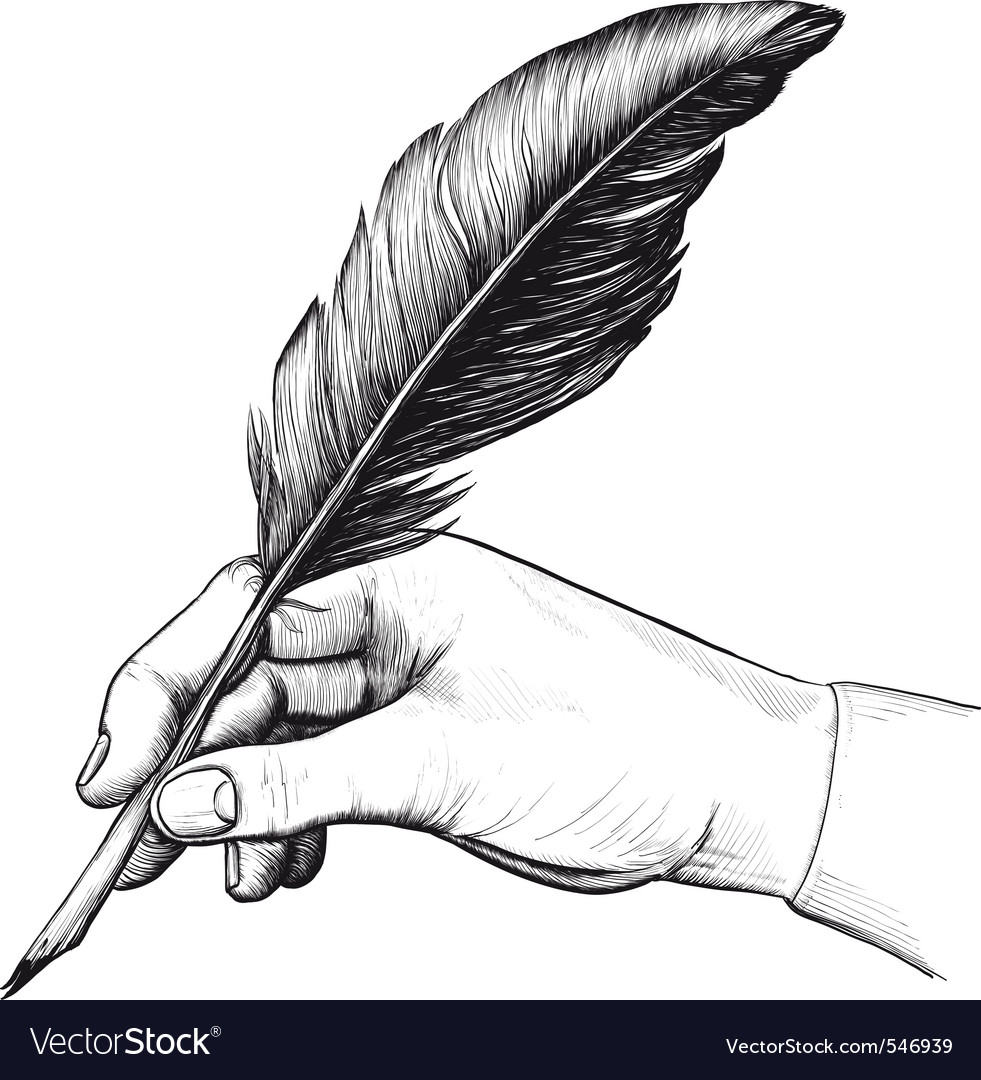With Pen & Feather