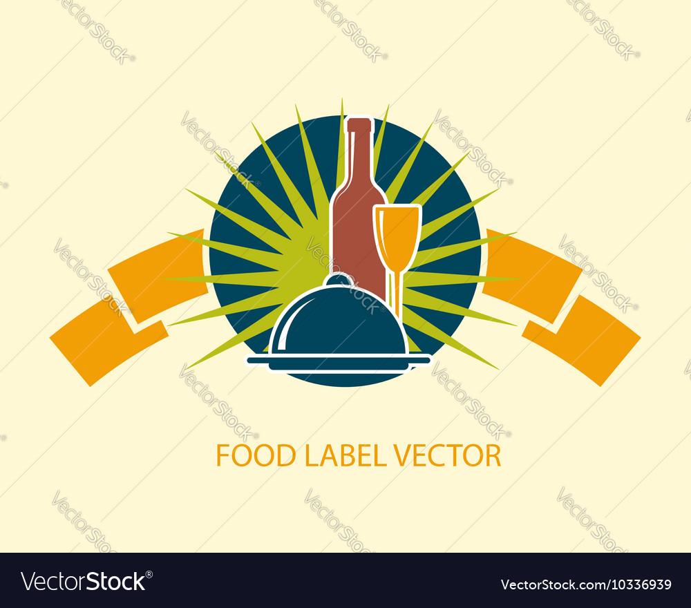 Food emblem label