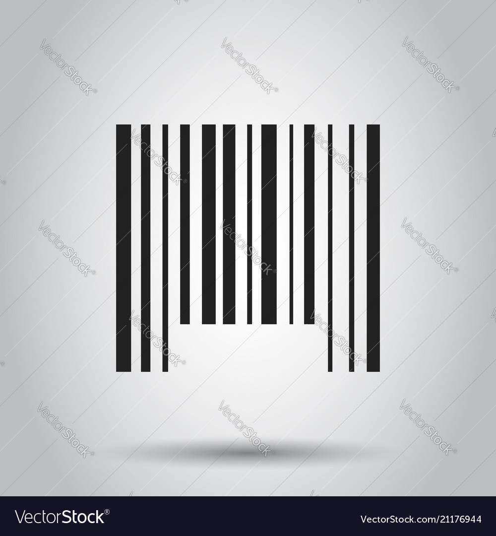Barcode product distribution icon business