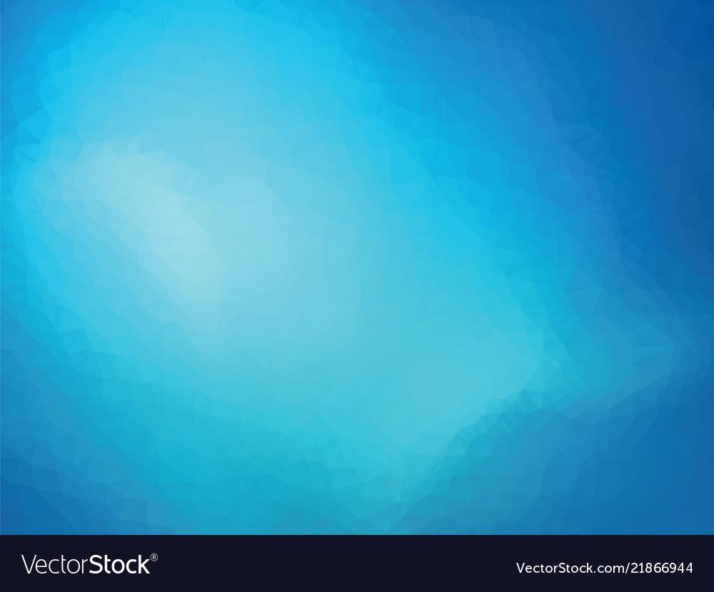 Blue glass geometric background