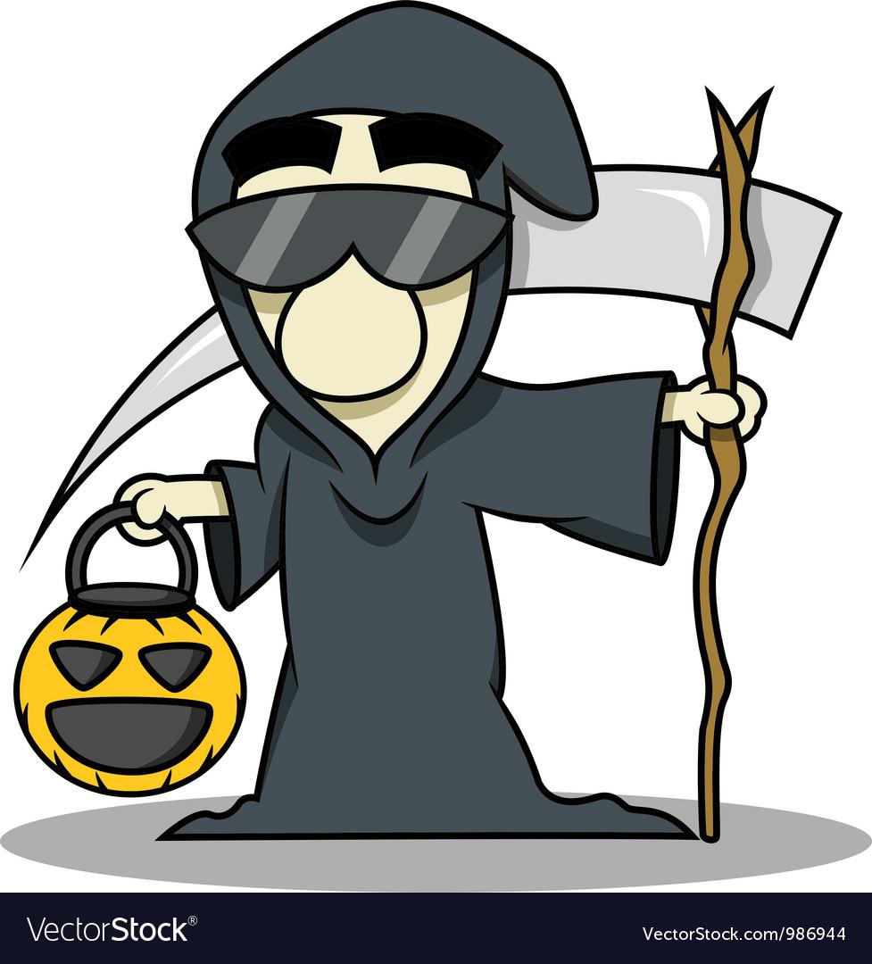 Death reaper halloween costume