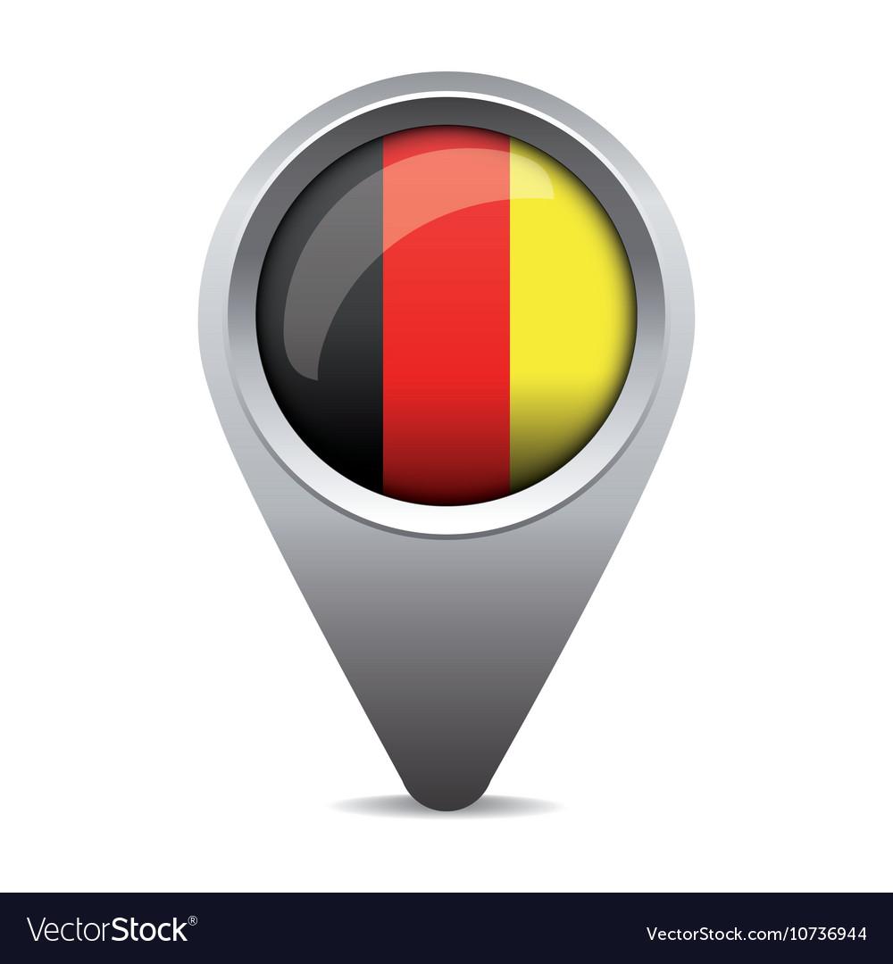 Germany flag pointer