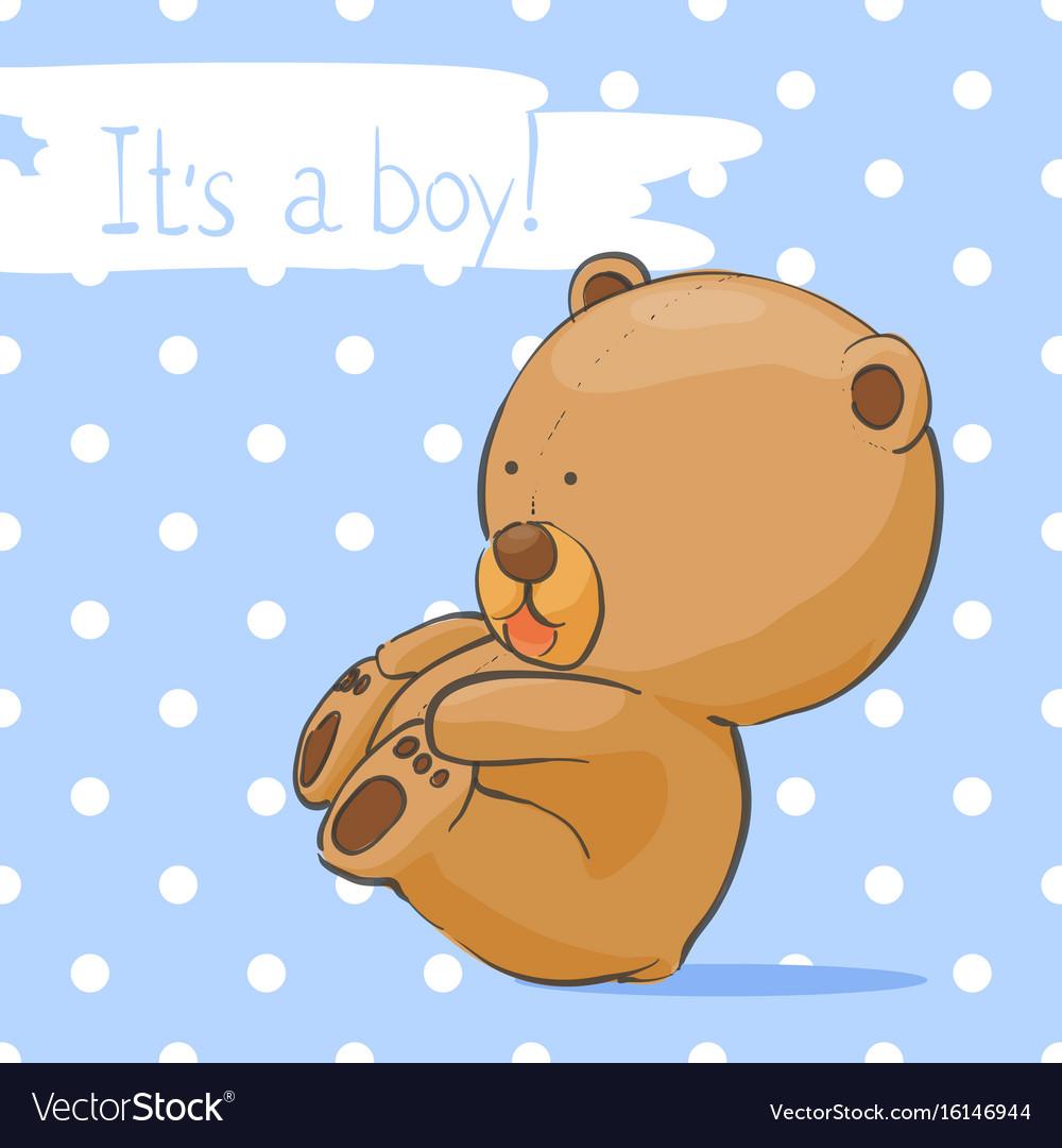 Днем, открытка с медведем прикольная