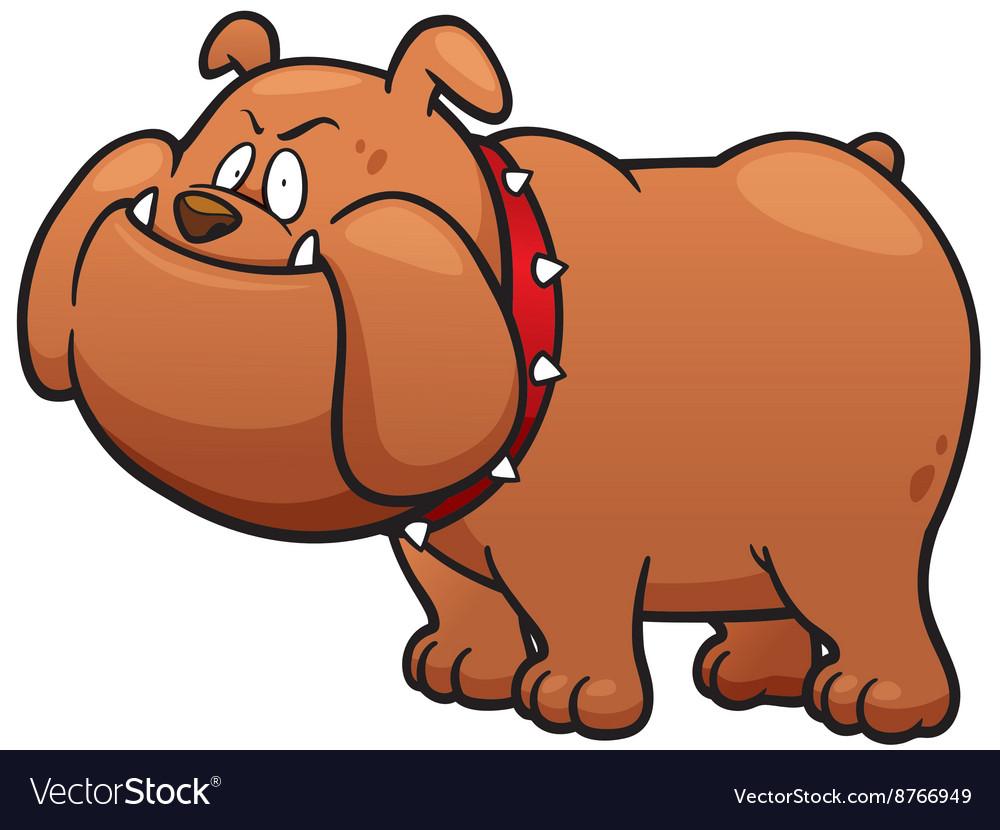 Angry Dog vector image
