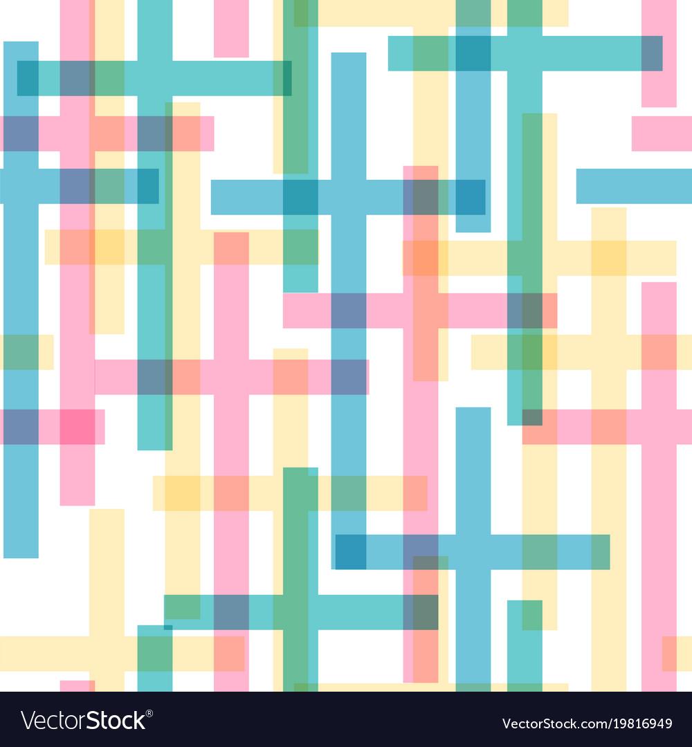 Cross seamless pattern
