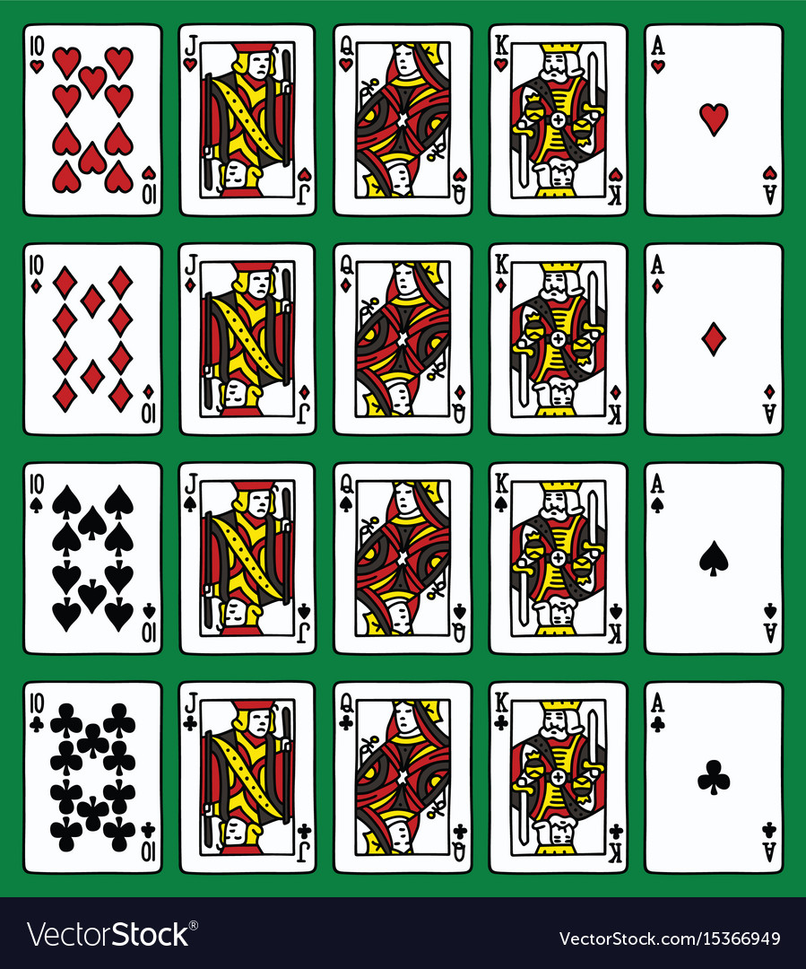 Four poker royal flush