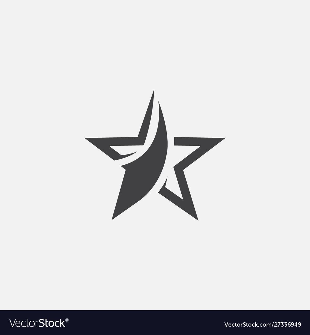 Star icon design star logo