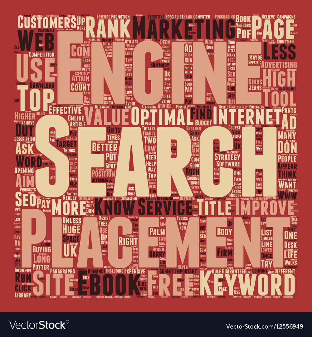 You Must Use The Right Keywords To Attain High