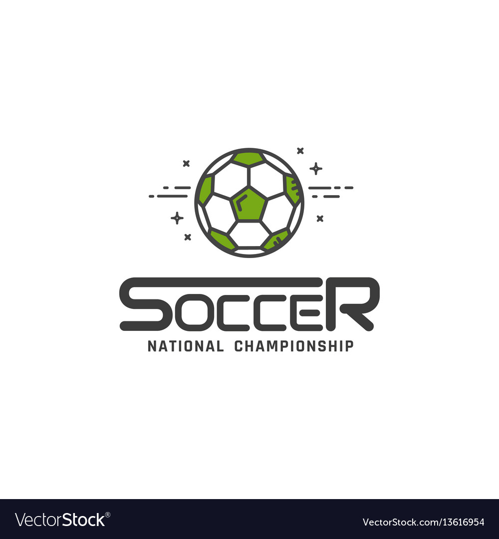 Football or soccer logo