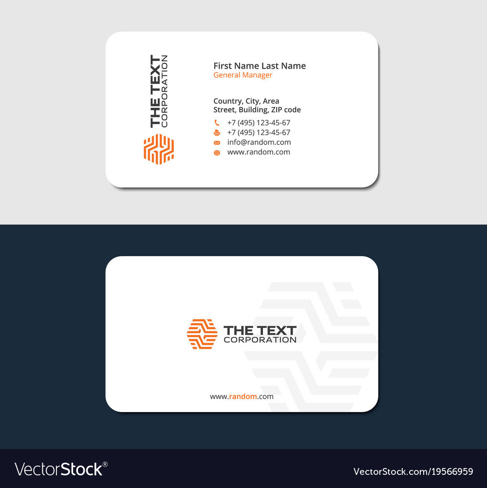 tile flooring business card vector image - Flooring Business Cards
