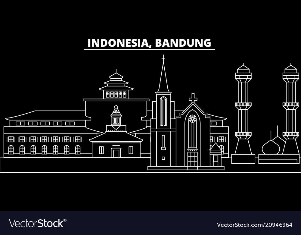Bandung Maps Vector Images 31