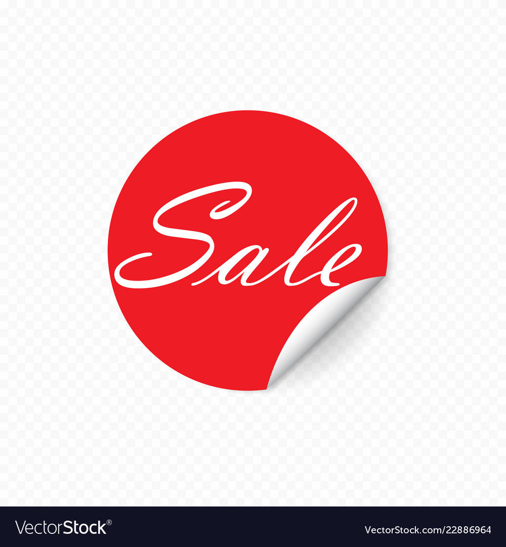 Sale sticker special offer banner template design