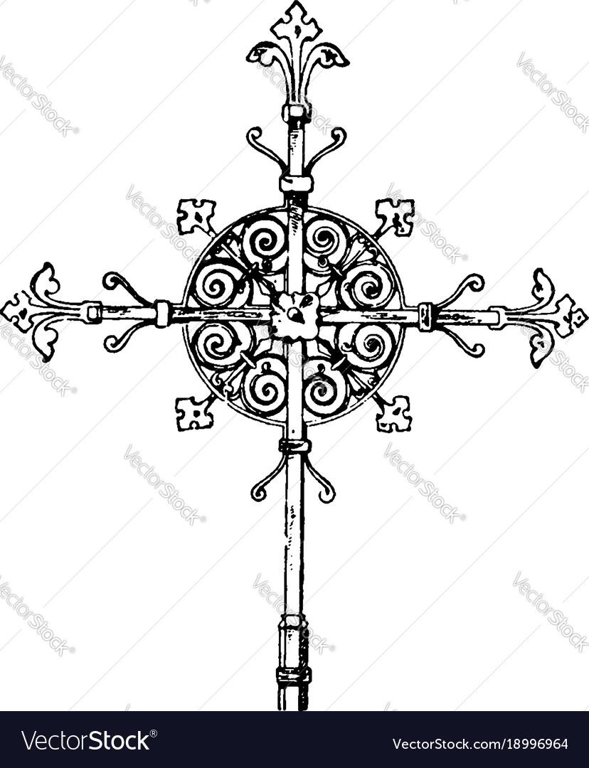 Steeple cross vintage