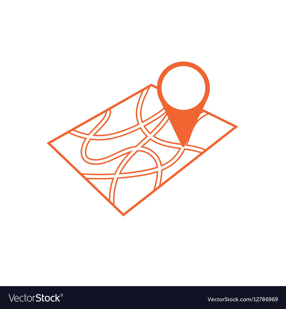 Pointer on map icon