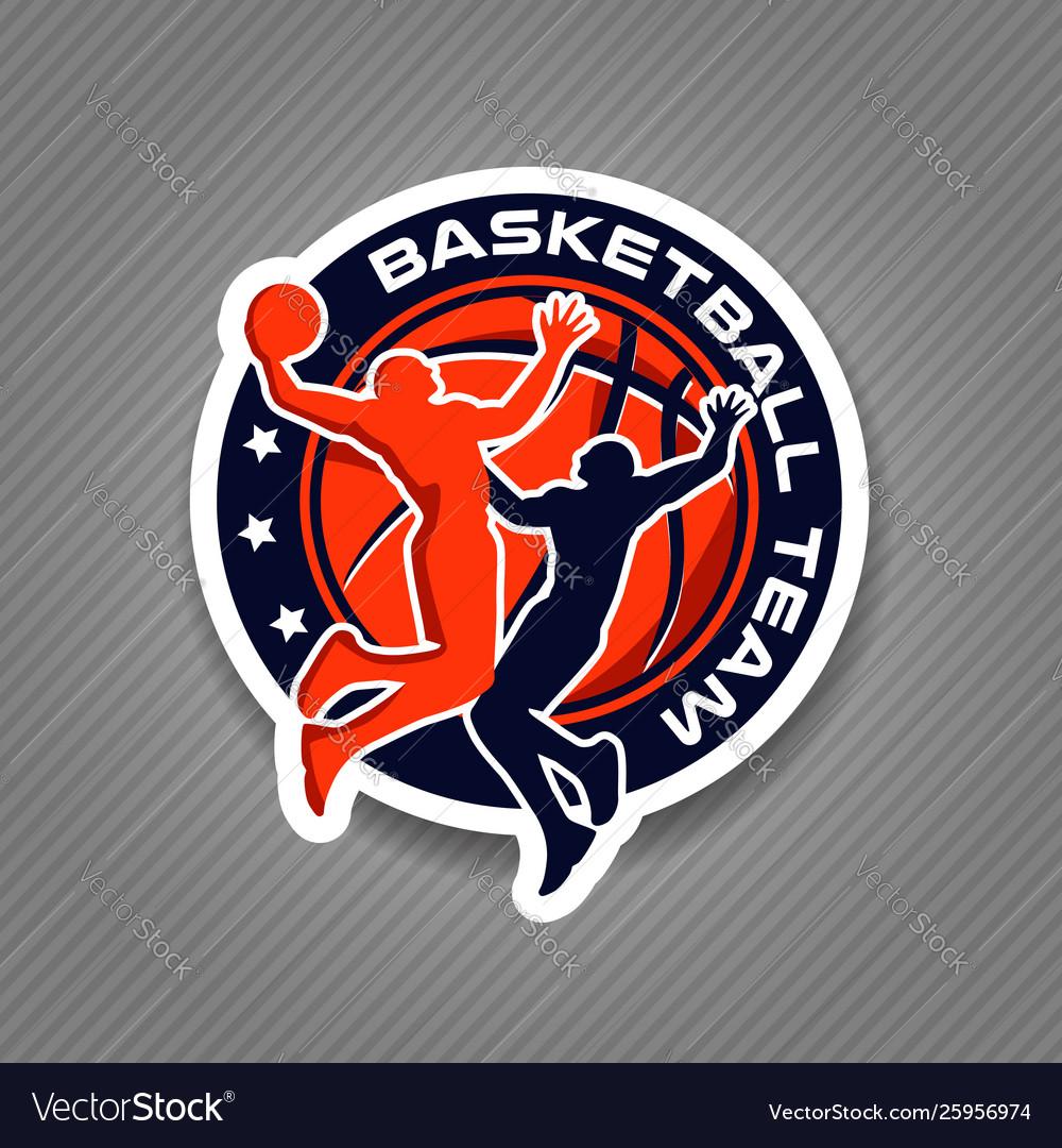 Basketball team championship logo sign symbol