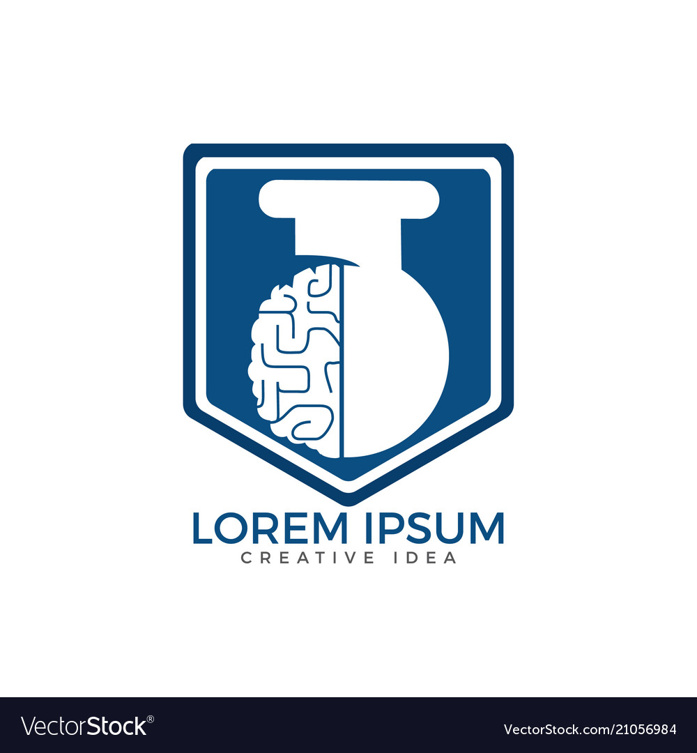 Brain lab logo design