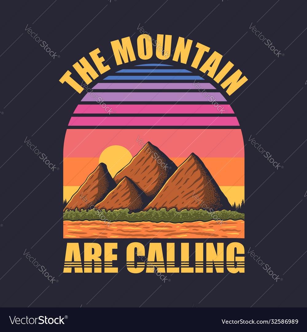 Mountain retro