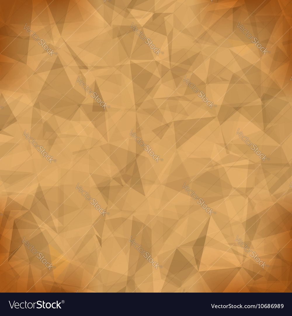 Orange Light Polygonal Mosaic Background