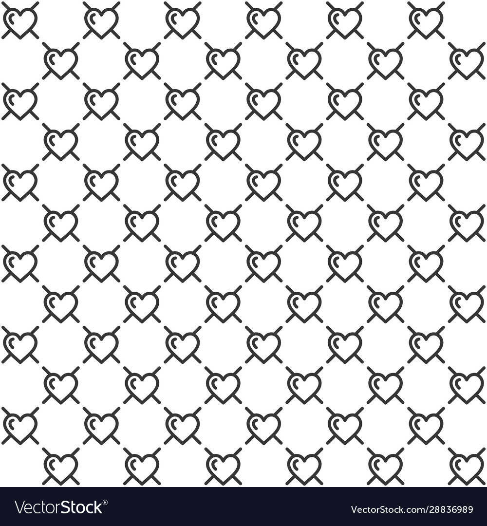 Seamless hipster abstract geometric pattern line