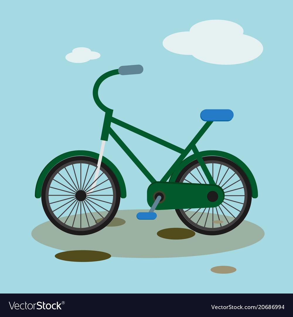 Bike mountain downhill flat bicycle