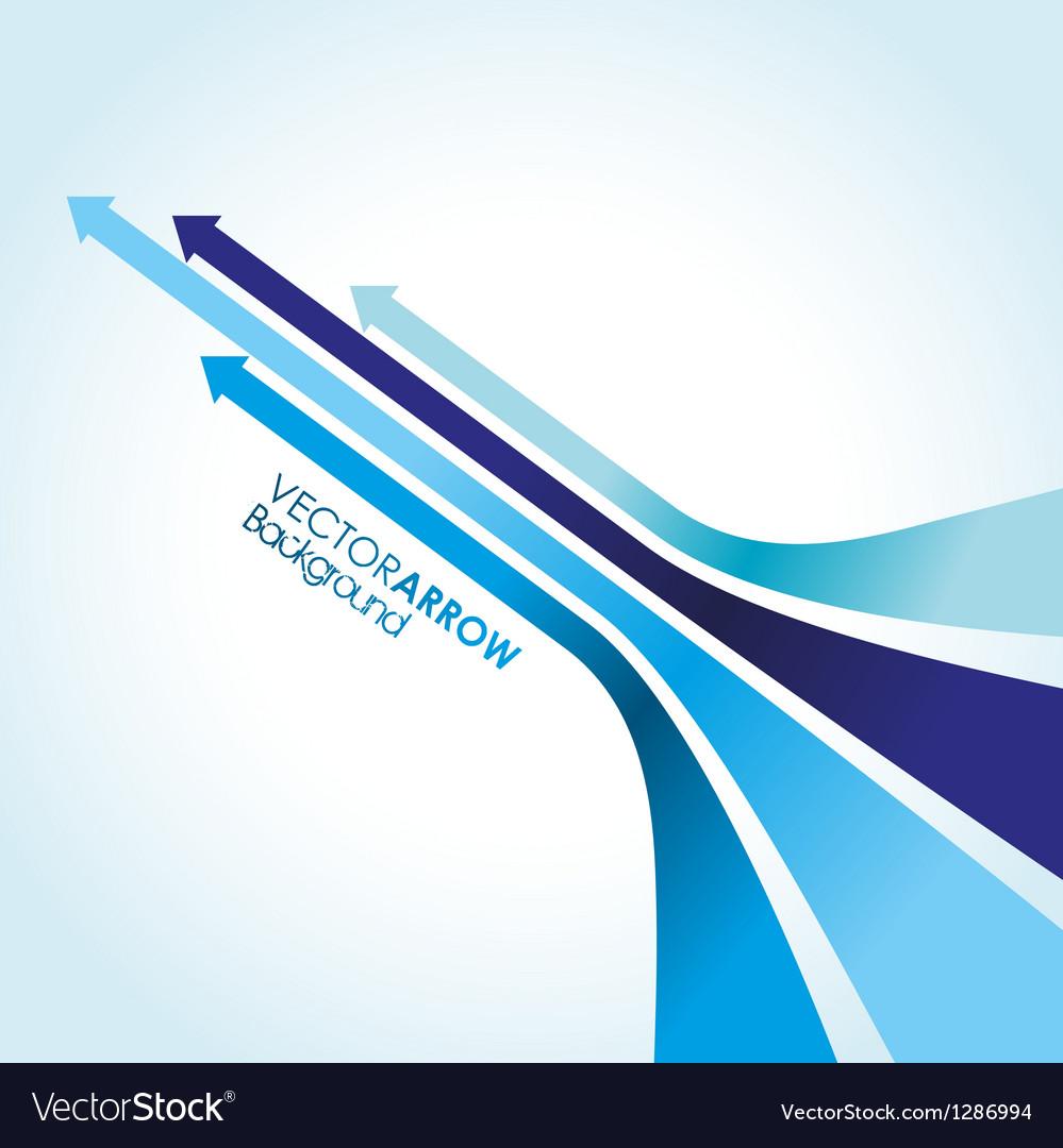Blue arrow strips