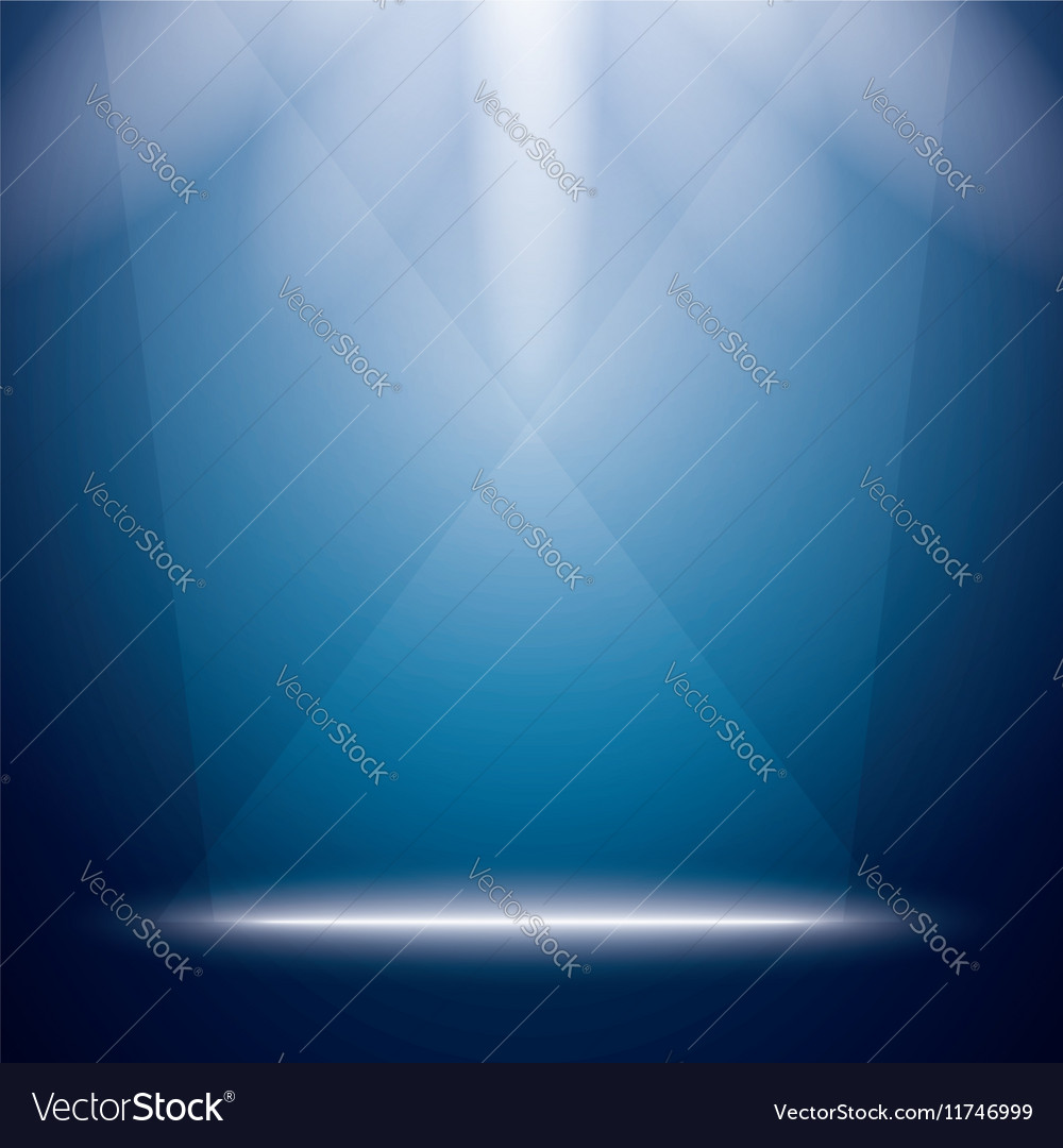 Abstract Background with Bright Stage Light Rays