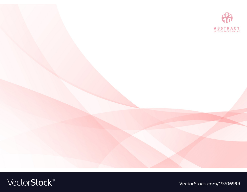 Abstract pink curve spiral lines background with