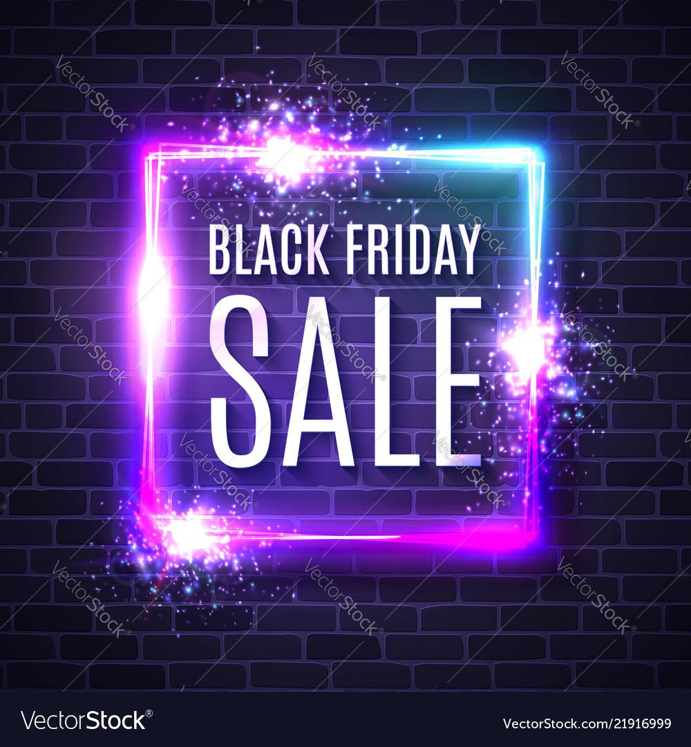 Black friday shopping web banner